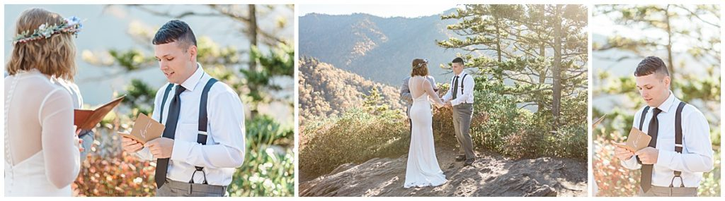 Alum Cave Trail Elopement in The Great Smoky Mountains of Tennessee