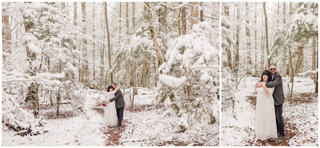 Great Smoky Mountain National Park Winter Elopement
